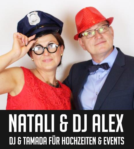 Natali und DJ Alex